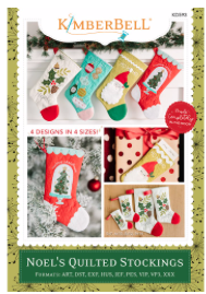 Kimberbell Noel's Quilted Stockings CD
