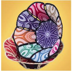 OESD Freestanding Fabric Bowls