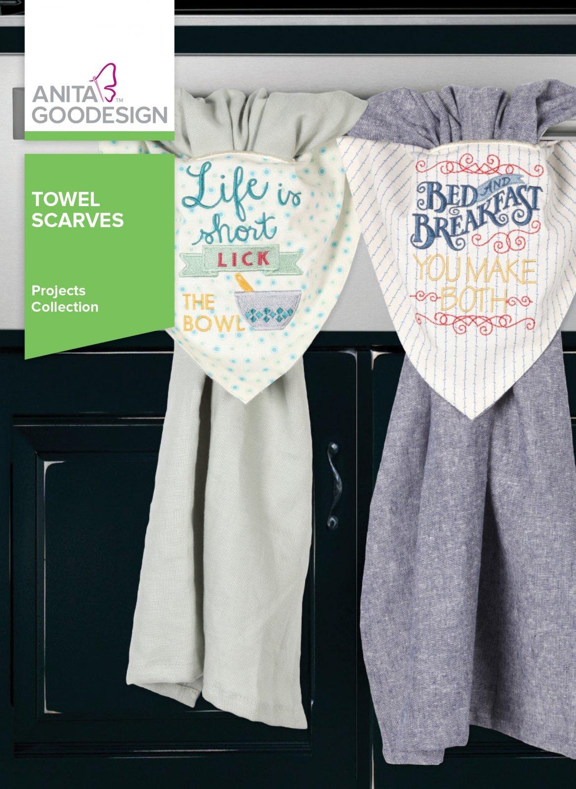 Anita Goodesign Towel Scarves