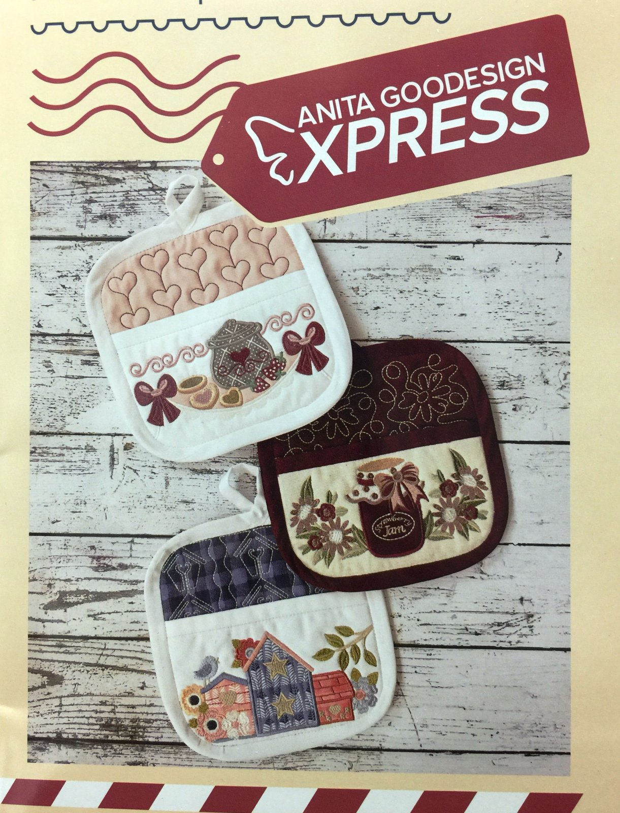 Anitas Express Embroidery Club March