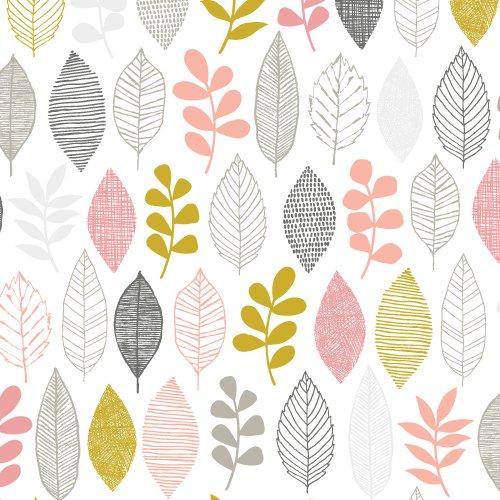 Leaf Sampler - Pink