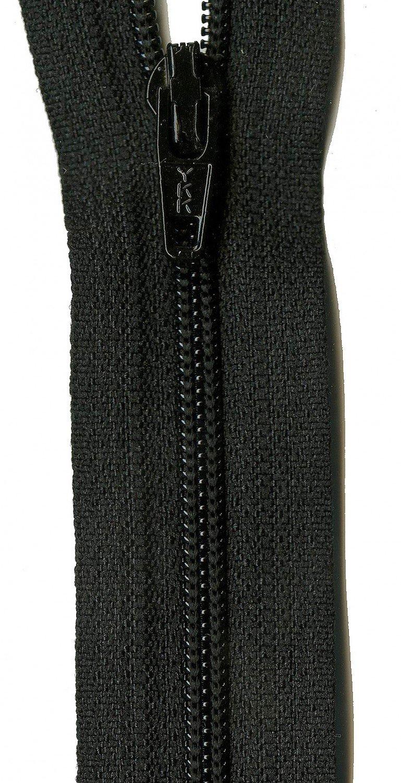 22 YKK Zipper Black