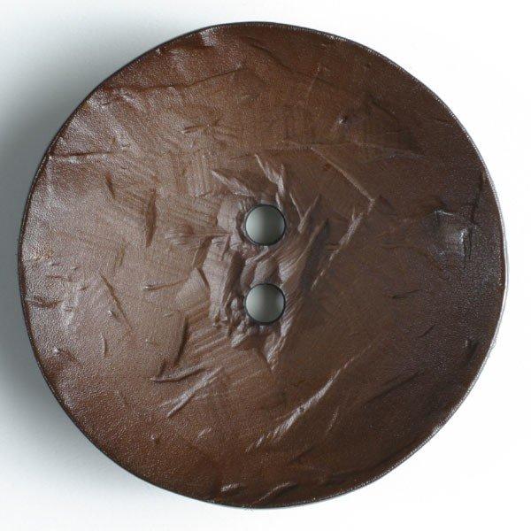 45mm Brown Button