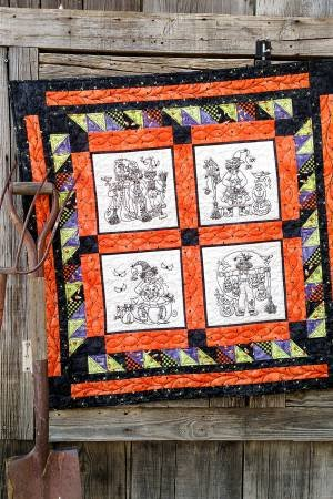A Coven of Witches Embroidery Pattern