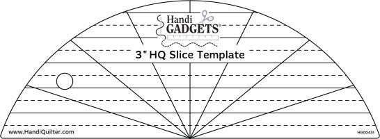 3 HQ Slice Template Ruler