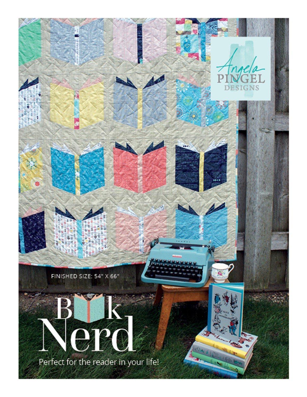 Book Nerd Quilt Pattern