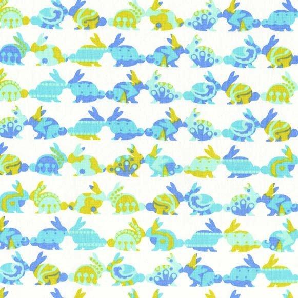 Rabbit Repeat Aqua