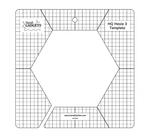 HQ Hexie 3 Inch Template