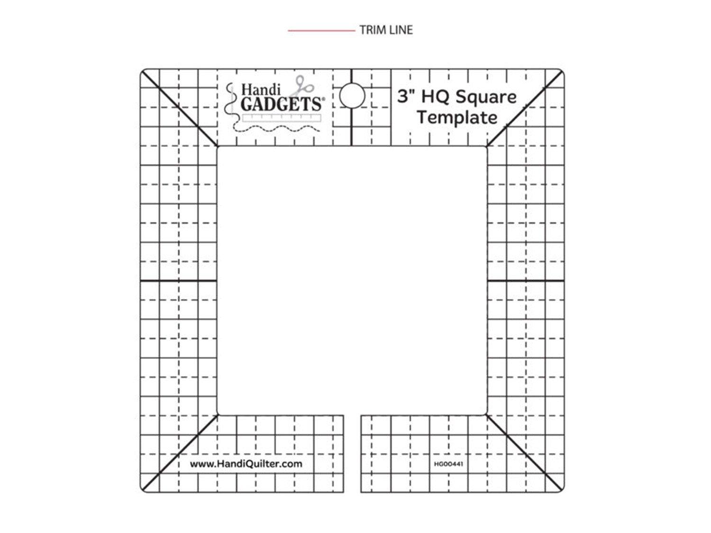 3 HQ Square Template