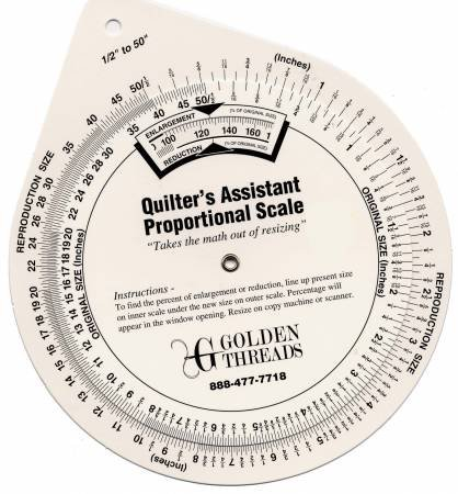 Quilter's Assistant Proportional Scale 5 inch
