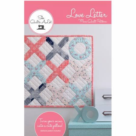 Love Letter Mini Quilt Pattern