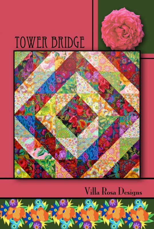 Tower Bridge Quilt Card