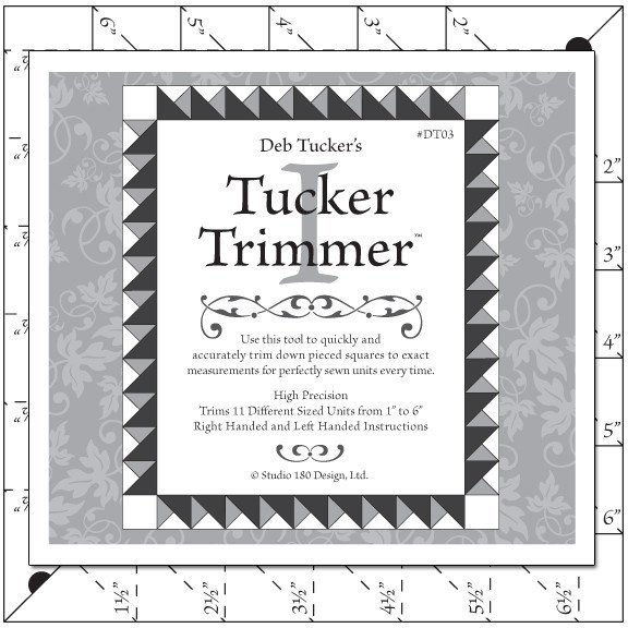 Tucker Trimmer 1 Ruler