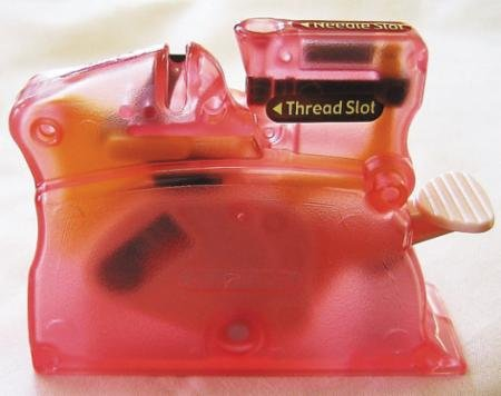 Desk Needle Threader Pink