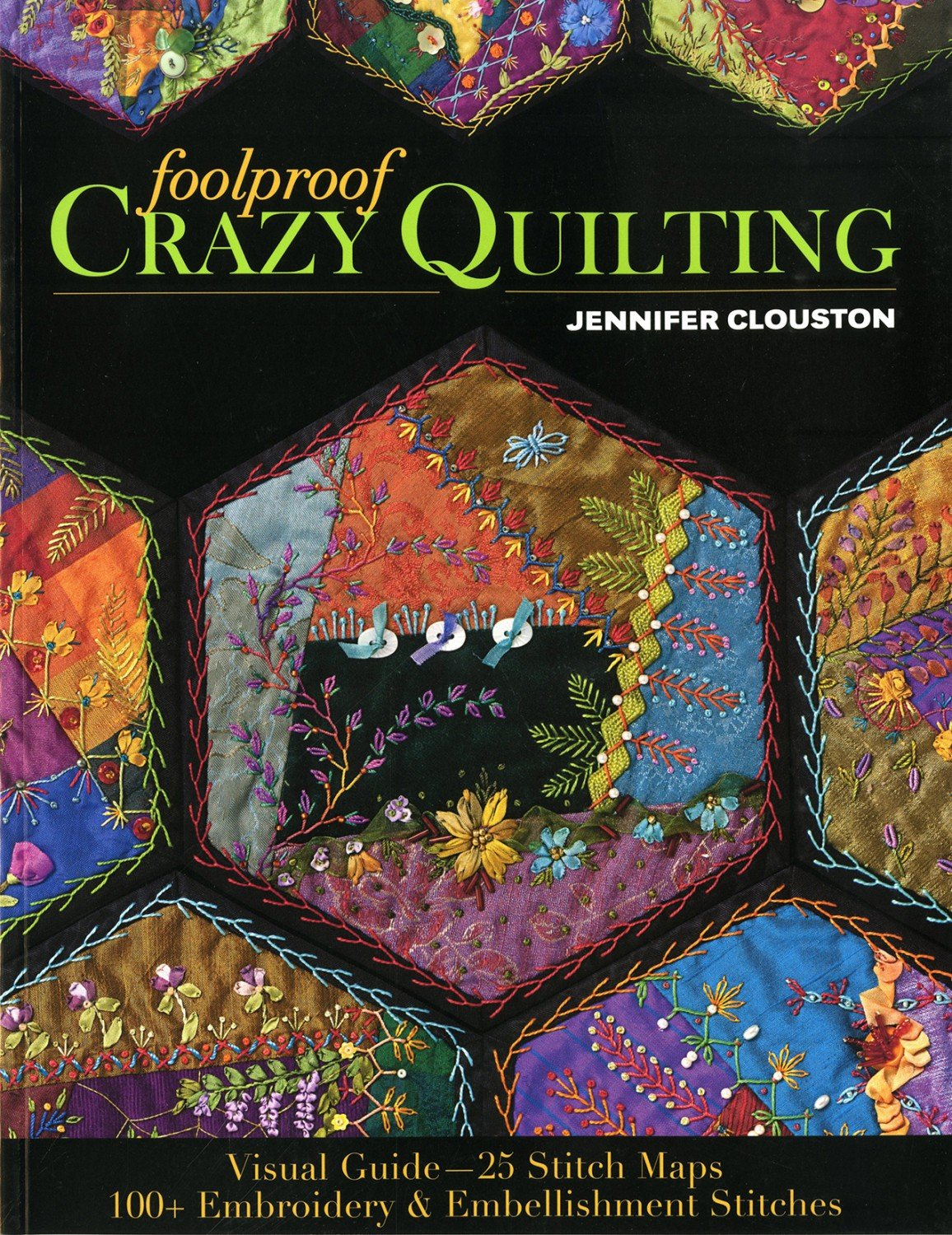 Foolproof Crazy Quilting - Softcover