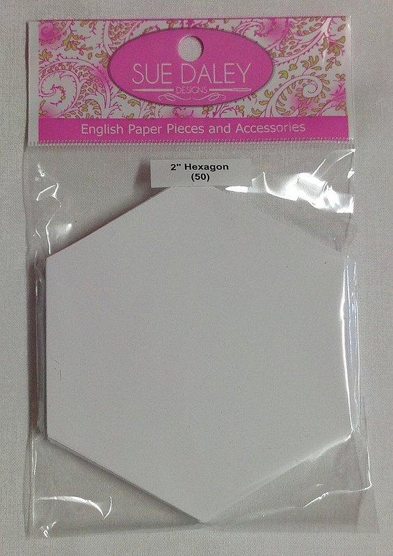 2in Hexagon Papers (50 pieces per bag)