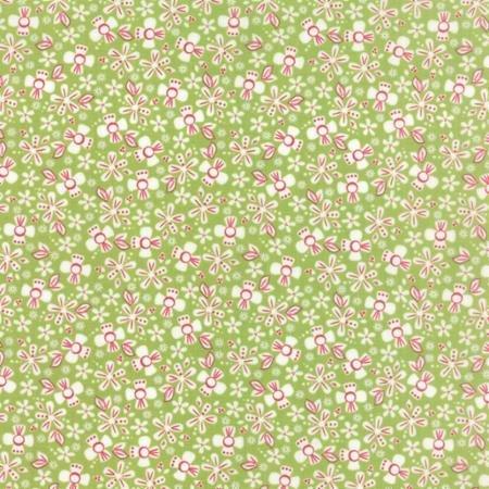 Prairie Ditsy Green