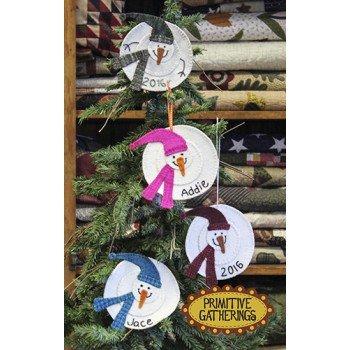 2016 Snowman Ornaments