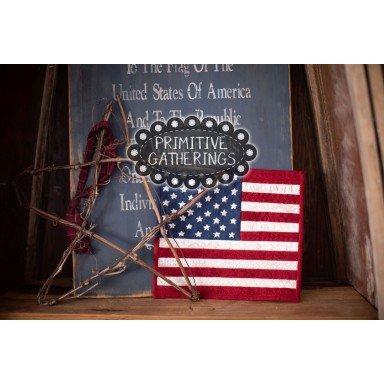 American Flag Mini