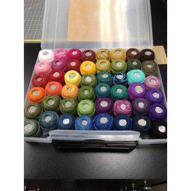 Valdani Top 48 Brights 12wt Perle Cotton
