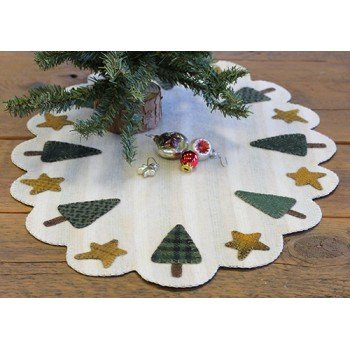 Holiday Tree Table Mat Kit w/ Pattern