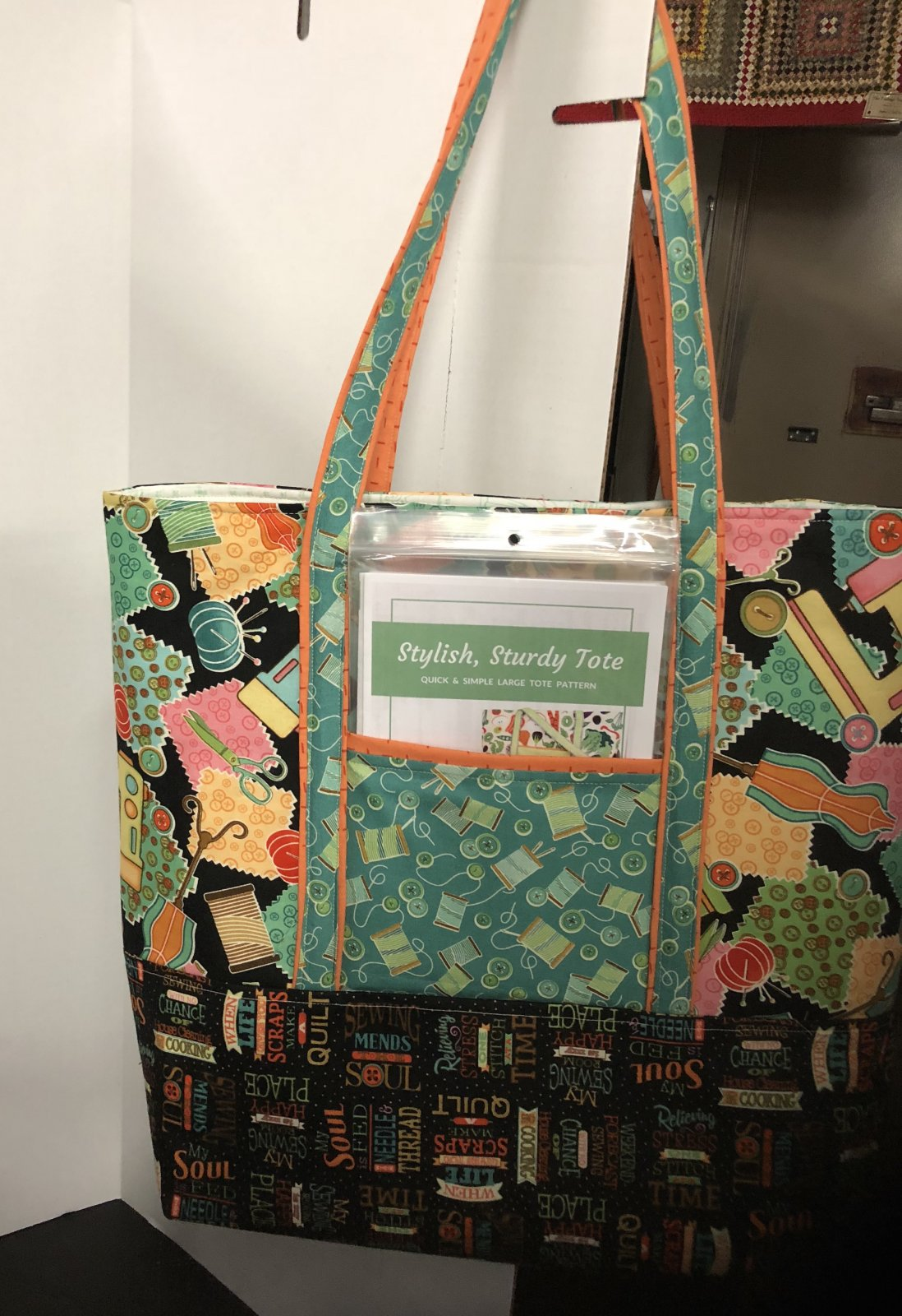 Stylish, Sturdy Tote Kit & Pattern