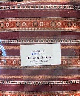 Historical Stripes 10 Squares by Paula Barnes
