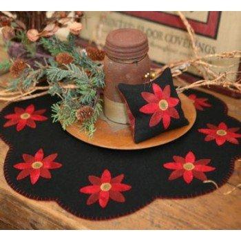Poinsettia Table Mat