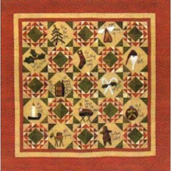 Home for the Holidays Kit w/ Full Wool Kit and Pattern PRI-337 K&P