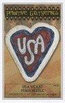 USA Heart Punchneedle
