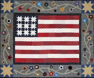 With Liberty and Justice for all Pattern