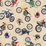 Cream Dirt Bikes