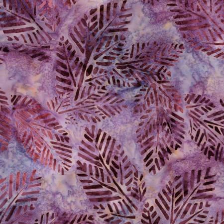 Arboretum 4 Purple Garden Batik
