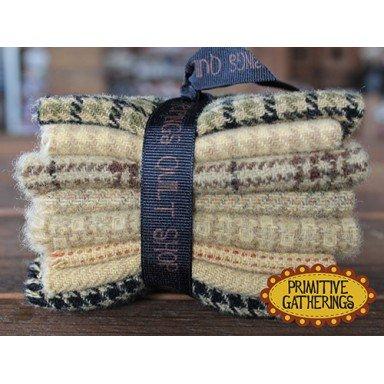 Small Wool Bundle 8pcs-6x8 Buttermilk