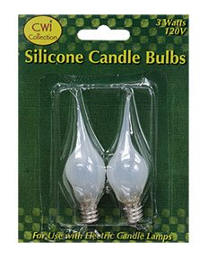 Silicon Candle Bulb 3 Watts 120V