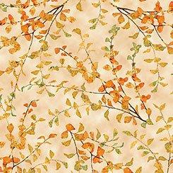 Autumn Shimmer Leaf Branch