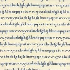 Lexington Cream W/ Blue Writing