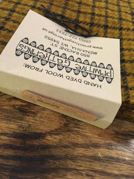 Wool Charms Mustard