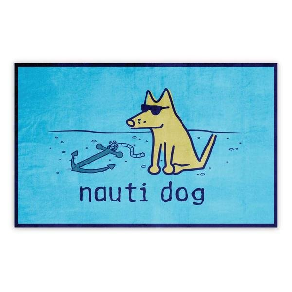 Nauti Dog Beach Towel