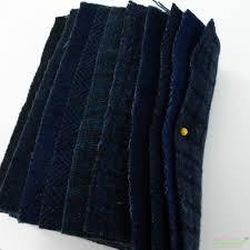 Wool 5 Charm Navy