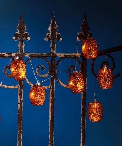 Halloween LED Owl String of Lights