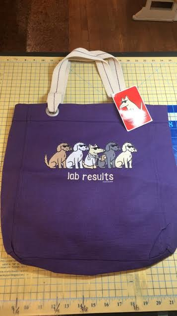 Canvas Tote Purple lab results