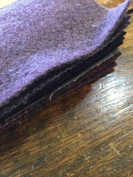 Wool Charms Purples
