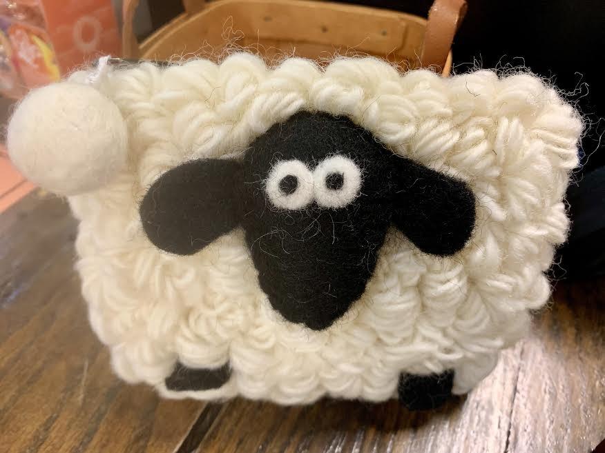 Rectangle Sheep Coin Purse