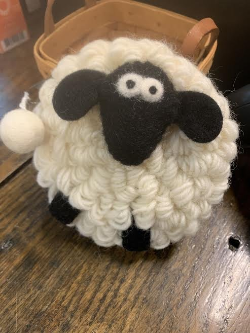 Round Sheep Coin Purse