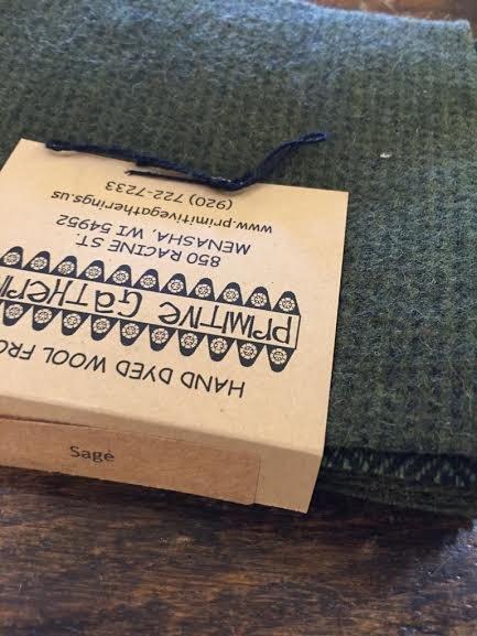 Wool Charms Sage