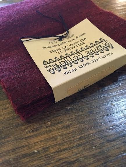 Wool Charms Salt Box