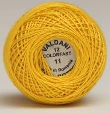Valdani Thread Size 12 11 - Sunflower