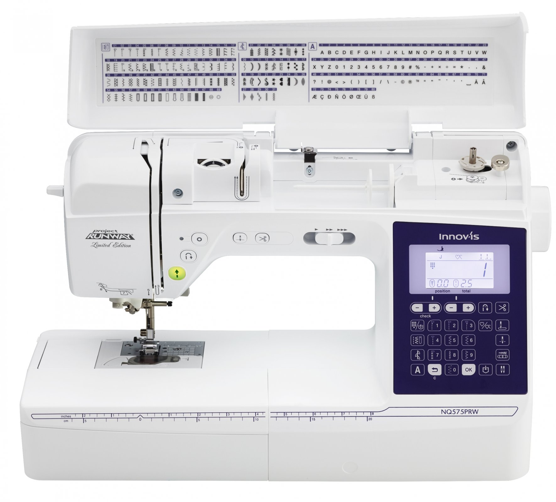 Brother Project Runway Limited Edition NQ575PRW - CLOSE OUT in EL CAJON