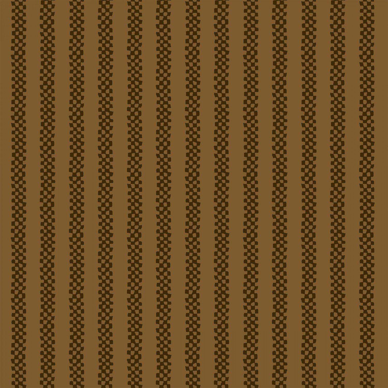 Cocoa Checkerboard Stripe 2149-38